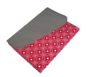 Scarlet and Grey for Ohio State Buckeye fans, cover for all new Kindles, Nooks, iPad Mini and custom