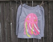 Jiggle The Jelly Jellyfish Girls T shirt
