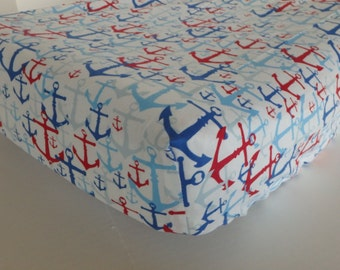 Anchor Changing Pad Cover