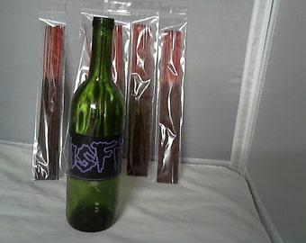 Glass bottle incense holder (The Misfits) w/ 100 incense