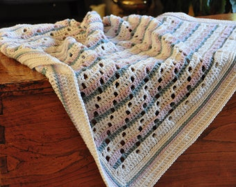 Soft Steps Baby Blanket - Instant Download PDF Crochet Pattern