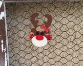 Reindeer Clip Rudolph