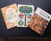 Set of 3 1960's Spiral Bound Cookbooks - Betty Crocker and Bisquick