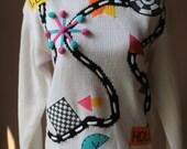 Vintage Club House Sweater by Cherry Stix Ltd.
