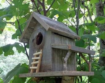 Rustic Cedar Natural Knothole Birdhouse