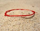 red string bracelet red string of fate string bracelet womens evil eye kabbalah hamsa hand red string bracelet RED 1