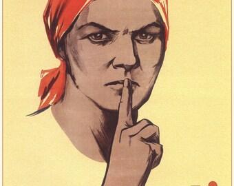 USSR, Russia, Propaganda poster, Lenin, Propaganda,  Soviet propaganda, Communism, Soviet, Poster, Wall decor, Russian, Soviet poster, 016