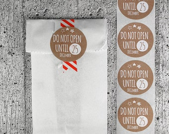 12 Christmas Stickers