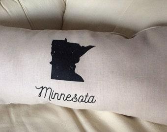 Minnesota Lumbar Pillow Minnesota Decor