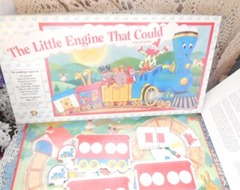 1989 The Little Engine That Could Board Game