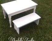 Toddler Farmhouse Table Set