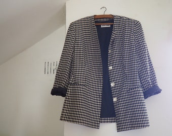 Black & White Silk Jacket - Gerry Weber