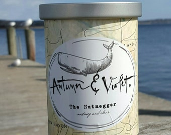 The Nutmegger-11oz. Soy Candle