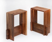 Contemporary Solid Wood Bar Stool