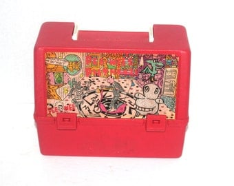 Vintage 1980s Pee Wee Herman Lunch Box, 80s Kids, Antique Alchemy