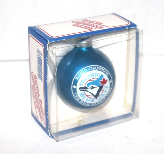 Vintage 1993 Blue Jays Christmas Ornament By
