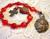 Sacred Heart of Jesus One Decade Chaplet Tenner Rosary