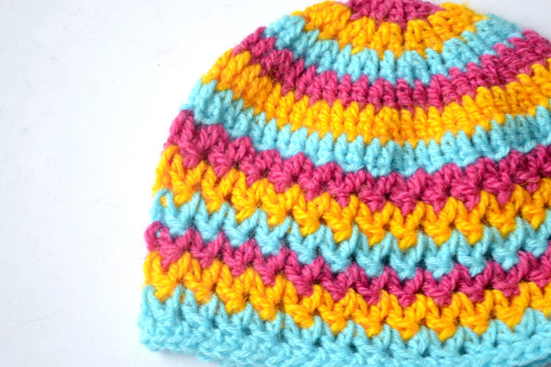 Crochet Baby Hat Pattern Crochet Hat Pattern By Tlhpatterns