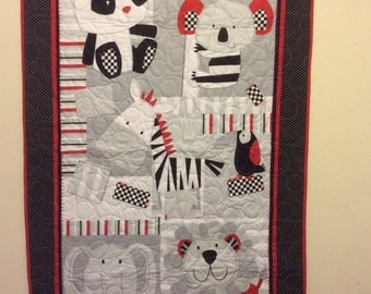 At the Zoo Quilt