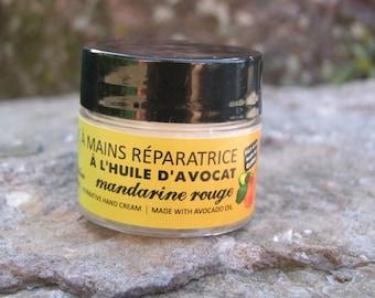 Red mandarine and avocado oil repairing handcream -The best handcream ever 20 grams