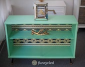 Mint Small Glass Front Credenza