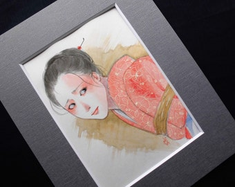 "japanese Original Fetish Art  "" 緊縛 花 HANA"""