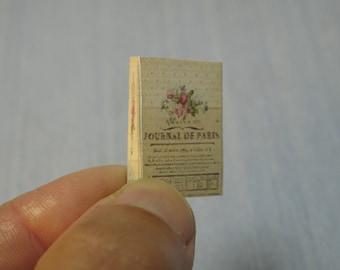 Gaël  Miniature Ladies romantic Miniature Folder Writing Letter desk 1:12 Scale Scale Dollhouse Miniature Or 1/6 playscale Dollhouse