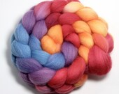Roving - Hot and Cold - Falkland Wool, 4 ounces