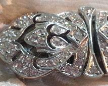 Bridal Jewelry - Something Old - Bride Gift - Wedding Brooch - Wedding Fur/Wrap Clip  - Converter Pin