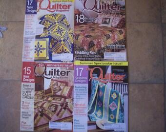 Quilter Magazines - 2005 - 2007 - 2008