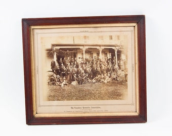 Antique Sepia Photograph - The Travelers' Protection Association of the United States