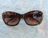 sunglasses made in Italy hand made polished frame circa 1980's never been worn free shippingware