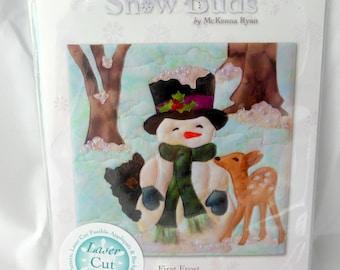 Snow Buds First Frost - McKenna Ryan Art Quilt Kit