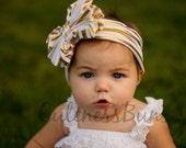 Messy Bow Headband, Baby Headbands, Knot Headband, Bow Headband, Turban Headband, Headband, Baby Bows, Newborn Headband, Girl Headband, Bow