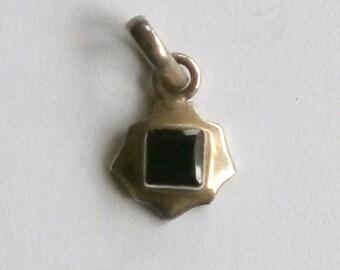 Silver - Garnet - Pendant