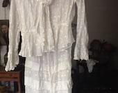 Edwardian Skirt and Matching Blouse