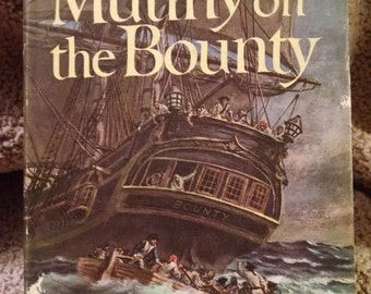 Vintage Book, Mutiny On The Bounty