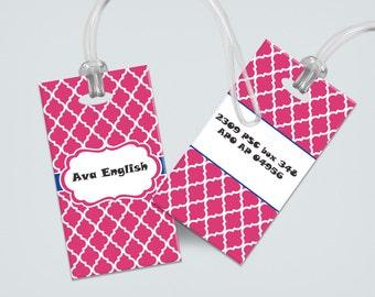 Personalized Luggage Tag - Bag Tag - Monogram Luggage Tag - Custom Carry Bag Tag - Personalized Bag Tag - Custom Monogram Gifts - Travel Tag