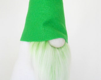 Green Gnome,17 inches, Scandinavian, Nordic Gnome  | Handmade by Nordic Gnome