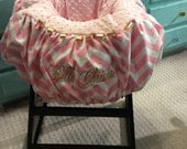 Pink and Gold Shopping Cart cover