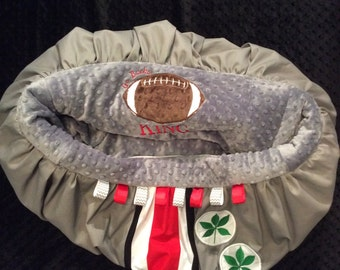 Ohio State Shopping Cart Cover or Highchair Cover