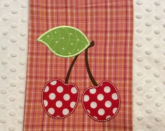 Cherries Tea Towel, CLEARANCE SALE