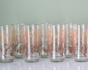 Vintage Libbey Juice Glasses - Set of 7