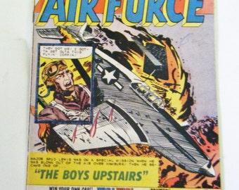 Rare Ten Cent October 1960 Fightin' Air Force Comic Book Volume 1 Number 23