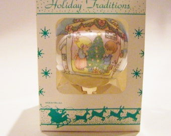 "Precious Moments ""Our First Christmas Together"" Christmas Ornament In Original Box"