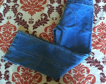 Vintage Boot Cut Levi's Tie Waist Low Rise Denim Jeans