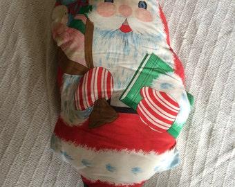 Vintage Santa Claus Plush Doll Decorations