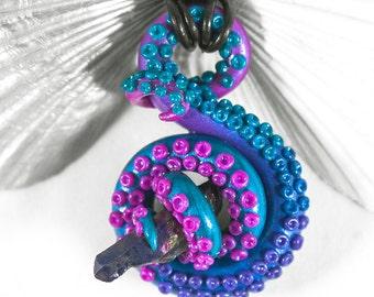 Tentacle Pendant Necklace