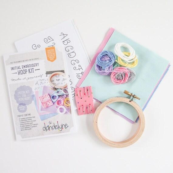 Embroidery kits for beginners makaroka