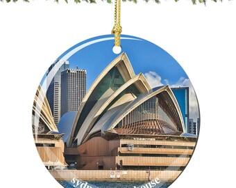 Sydney Opera House Christmas Ornament Decoration
